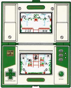 "Greenhouse (1982) Nintendo - Game and Watch - ""Multi-screen Series"""