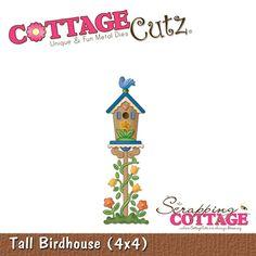 Cottage Cutz-4x4 Dies-Tall Birdhouse