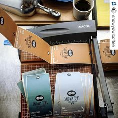 Thanks for the shoutout! Love working with you all! Good luck this weekend! #makelabels #Repost @snowyowlcoffee with @repostapp.  What a weekend ahead! We are preparing our lovely labels by @frontierlabel to bag up some extra beans for this weekend's festivities. Come check out our booth alongside all the great local growers and vendors at the @orleanswinterfarmersmarket at Nauset Middle School on Saturday 9am-12pm. We'll also be celebrating holidays on the Cape at the @lovelivelocal fest…