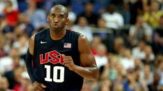 Kobe Bryant #10 of United States reacts in the second quarter while taking on Argentina during the men's Basketball semi-final match on Day 14.
