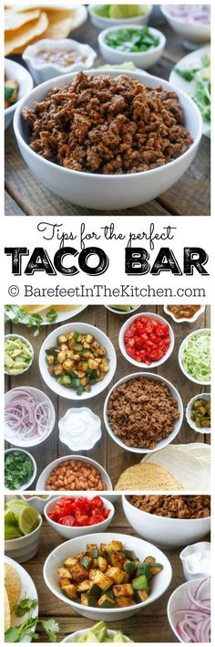 We love tacos! They're the perfect way to feed a crowd ... and here are some unique toppings to make them extra yummy!