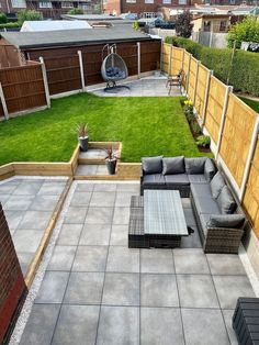 We are so in love with this garden transformation! To create this stunning grey patio area, our client used our Bolzano Grey porcelain tiles 😍 You can find out more about Bolzano Grey paving on our website right now! Click the image to shop. Grey Paving, Concrete Paving, Tile Projects, Grey Tiles, Contemporary Interior Design, Sidewalk, Porcelain Tiles, Patio, Garden