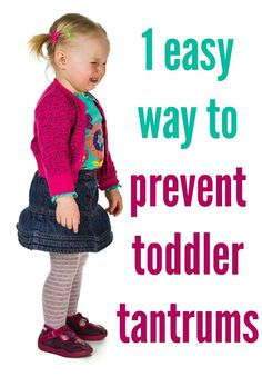 The 1 Trick That Stops Tantrums Before They Start