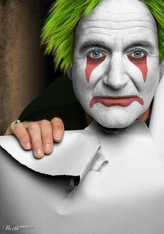 Robin Williams. R.I.P The World woke up today a genius shorter.