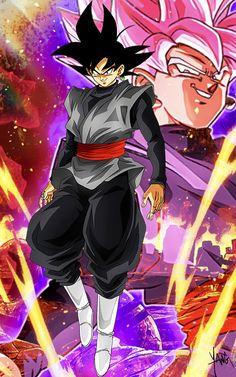 Black Goku, Goku Black Super Saiyan, Dragon Ball Z, Dragon Ball Image, Majin Boo Kid, Goku Wallpaper, Wallpaper Desktop, Evil Goku, Zamasu Black