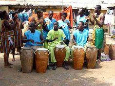 Kpanlogo Singing: African Heritage Dance Group - GHANA