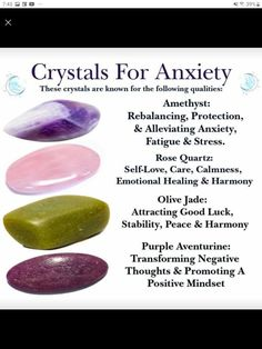 Crystals And Gemstones, Stones And Crystals, Chakra Crystals, Crystal For Anxiety, Peace And Harmony, All Nature, Crystal Healing Stones, Emotional Healing, Rocks And Gems