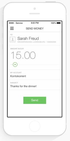 Numbrs mobile banking app has person-to-person payments, Switzerland