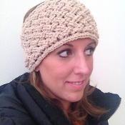 Diagonal Weave Headband - via @Craftsy