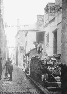 Photo of St Ives, The Digey 1906 from Francis Frith St Ives Cornwall, Devon And Cornwall, Old Photos, Vintage Photos, Holiday Fun, Cottages, England, Traditional, Black And White
