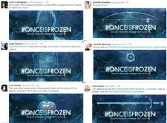 The OUAT cast sharing their promo posters THAT IS SO COOL I LOVE IT