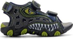 kids sandals, dinosaur shoes