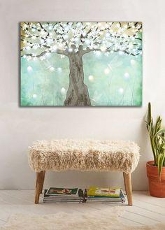 Wanddeko - Bild auf Leinwand - ein Designerstück von Ortons bei DaWanda Designer, Ottoman, Etsy, Chair, Furniture, Home Decor, Wall Canvas, Decoration Home, Room Decor