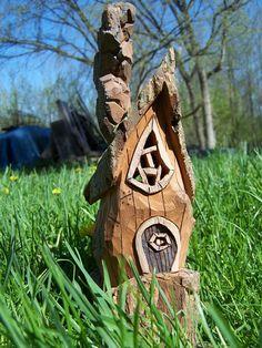 Cotton Wood Gnome Home