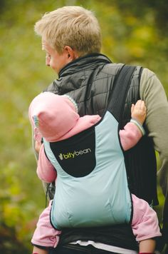 6f8c14cf663 The Bitybean Baby Carrier makes hiking with babies and toddlers easy!  Camping With Kids