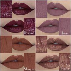 Lipstick Shades, Makeup Lipstick, Liquid Lipstick, Makeup Cosmetics, Lipsticks, Beauty Make Up, Hair Beauty, Mauve Lips, Stunning Makeup