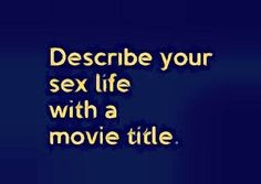 12 Years a Slave I'mma Slave to my sex crave Urghh!!! You?
