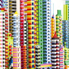 "The little colored bricks that we grew up playing with are more than toys to Berlin based photographer Laird Kay, who uses lego to represent entire cities. His playful photo series titled ""Le…"