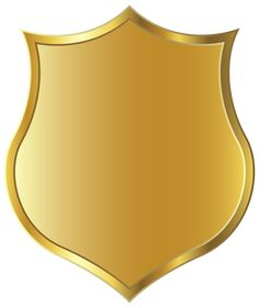 Gold Badge Template PNG Image