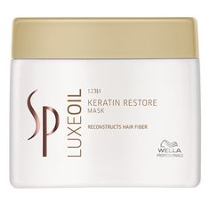 Wella SP Luxe Oil Keratin Restore Mask 400ml - hair-shop24