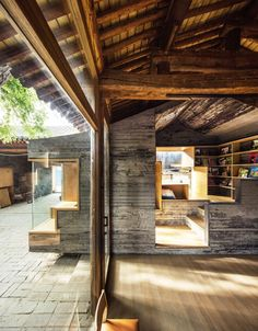 ZAO/standardarchitecture · Micro-yuaner, Cha'er Hutong 8 Courtyard_Childrens' library