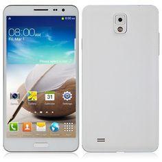 Star N9000 Note 3 III 5.7 Zoll MTK6582 Quad Core 1.3GHz Android 4.2.1 IPS HD Bildschirm 1280x720 Resolution (16:9) 1GB RAM / 8GB ROM Dual Camera Kamera 13.0 MP Dual Sim Karte OTG 3G GPS Mobile Phone Smartphone Handy (weiß)