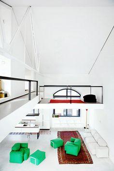 Lofts Via Savona in Milano, Italy by Architect Roberto Murgia Studio Interior, Decor Interior Design, Furniture Design, Lofts, Loft Spaces, Living Spaces, Loft Design, House Design, Industrial & Rustic Interior