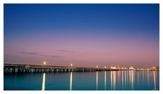 The Longest Pier by mdomaradzki.deviantart.com