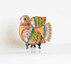 Boho ceramics. Russian Folkore