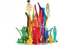 Colours of Spring: Mono-Chrome Dressing