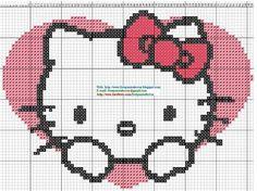 Punto de cruz Hello Kitty