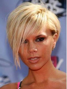 Best Short Haircuts for Women : Victoria Beckham Hairstyles Short