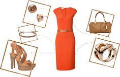 MICHAEL KORS l'orange la plus belle, created by cristina1207 on Polyvore