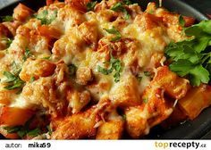 Potato casserole with chicken recipe – TopRecepty. Potato Casserole, Chicken Casserole, Russian Recipes, Cauliflower, Chicken Recipes, Food And Drink, Soup, Potatoes, Yummy Food