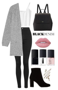 """"" by karina-r11 ❤ liked on Polyvore featuring Topshop, By Malene Birger, Yves Saint Laurent, Kate Spade, Anastasia Beverly Hills, Lime Crime and NARS Cosmetics"