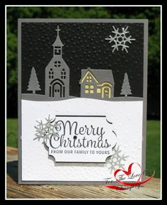 Hometown Greetings - Stampin' Up! Created by Tracie St-Louis https://fortheloveofstamping.blogspot.ca/2017/08/hometown-greetings-holiday-catalog-2017.html