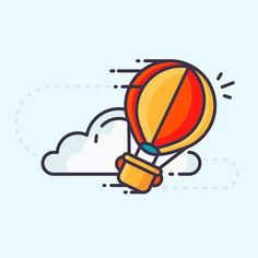 Best icons of the week is here! Check it out on Icon Utopia! Link in the bio. #icon #outline #illustration #design #balloon #hotairballoon #clouds #sky #fly #discover #art #vector #graphic #graphicdesign #iconography #graphicdesignblg #graphicgang #graphicdesigncentral #thedesigntip #picame #iconaday by iconutopia
