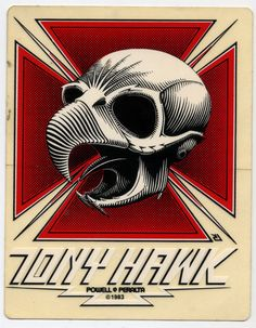 Tony Hawk Powell - Peralta My first pro board. Old School Skateboards, Vintage Skateboards, Birdhouse Skateboards, Skateboard Logo, Skateboard Design, Tony Hawk Skateboard, Hawk Logo, Skate And Destroy, Skate Art