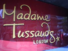 Madame Tussaud's in London, England.  Really fun way to break up all of the more-serious sightseeing.