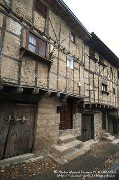 Arquitectura de entramado en San Martín de Trevejo Sierra de Gata, Cáceres…