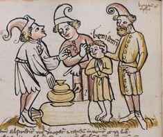 Basel, Universitätsbibliothek, A II 1, f. 85v, 1396, Germany