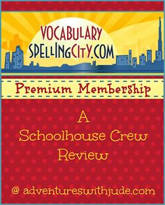 VocabularySpellingCity (A Schoolhouse Crew Review) #k12 #homeschool #coschool