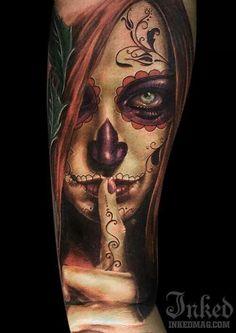 http://tattoomagz.com/blog/50-drop-dead-gorgeous-santa-muerte-tattoos/