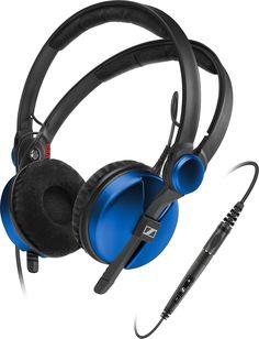 Sennheiser HD 25 Amperior DJ Pro Monitoring Headphones - Blue  AMPBLUE-NEW,    #Sennheiser Headphones