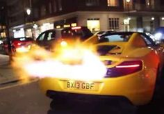 Incredibly Hot Supercars Spitting Flames - VIDEO | eBay