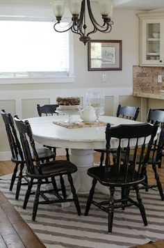 Start at Home: Pedestal Table