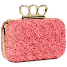 CASPAR Taschen & Accessoires , Pochette pour femme weiss: Amazon.fr: Chaussures et Sacs