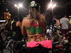 De bike, G1 vai atrás de pedalada pelada e mostra protesto de ciclistas