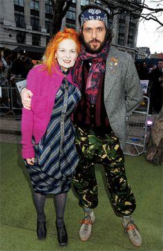 Vivienne Westwood und Andreas Kronthaler sind seit 17 Jahren verheiratet.