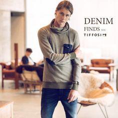 Editorial - Denim Finds You  #tiffosi #tiffosidenim #new #newin #man #mancollection #editorial